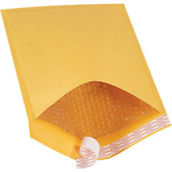 10.5 X 16 Inch Kraft Bubble Mailers 5 Padded Envelopes Self Seal Pack Of 250