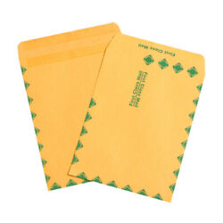12 X 7 X 14 Flat Handle Grocery Paper Mailer Envelopes Bags - Pack Of 3000