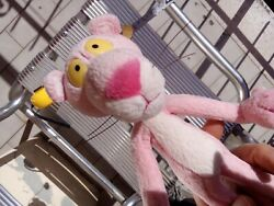 Vintage Pink Panther Stuffed Animal Toy Toys Standing Posable Bendable
