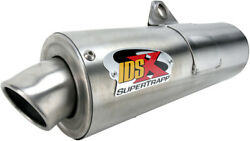 Idsx Full Exhaust System Supertrapp 835-4664 For 04-07 Yamaha Rhino 660