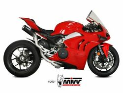 Mivv High Complete Exhaust Mk3 Carbonducati Panigale V4 2018-2021