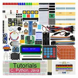 Ultimate Starter Kit For Raspberry Pi 4 B 3 B+ 400 434-page Detailed Tutorials