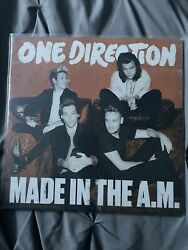 One Direction Made In The Am Black Vinyl Good Condition No Skips Or Scratches