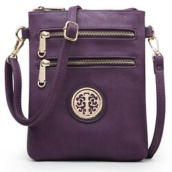 Small Crossbody Bags for Women Lightweight Shoulder Purses with Multi Pockets $22.99
