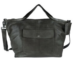 Latico Leathers Colin Olive Authentic Leather Handcrafted Handbag Tote
