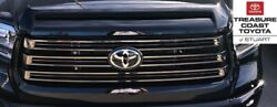 New Oem Toyota Tundra 18-21 Nightshade Grille And Hood Bulge Black 218 And Emblem
