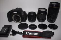 Recommended Canon Kiss X9i Triple Lens Set