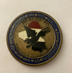2nd Battalion, 505th Pir, Operation Iraqi Freedom Combat Coin Of Excellence F17