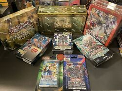 Yu-gi-oh Structure Decks, Tins And More/ Factory Sealed Bundle Lot Of 8