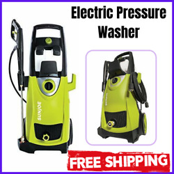 Electric High Pressure Washer Power 5 Quick Connect Spray Dual Detergent Tanks