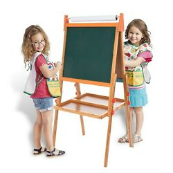 Wooden Artist Telescopic Painting Easel Adjustable Tripod Display Stand W/pens