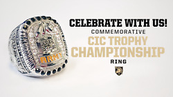 2020 Army Football Commemorative Commander In Chiefandrsquos Trophy Championship Ring