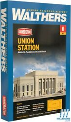 New Walthers 933-3257 Union Station Kit N Scale Train Free Us Ship