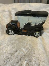 Vintage Collectible1960s Mccoy Ceramic Touring Car Cookie Jar, Auto Ford Model T