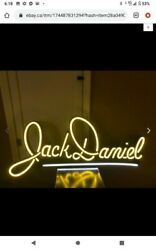 Jack Daniels Large Led Sign Man Cave Decor Light Display Tennessee Whiskey New