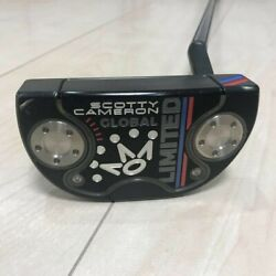 Scotty Cameron Global Limited Putter Limited Edition Of 1500 34 Inches F/s Used