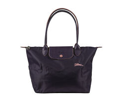 New Longchamp Le Pliage Club Tote Bag Bilberry 1899 Made In France