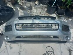 2011-2014 Volkswagen Touareg Front Bumper Cover W/ Grille And Fog Lights