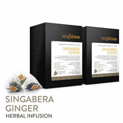 Singabera Java Emprit Ginger Spices Herbal Infusion 12 Boxes X 20 Teabags