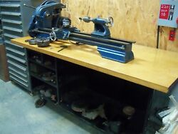 954 Craftsman Lathe 12 Swing With Lots Of Original Tooling And Accessories