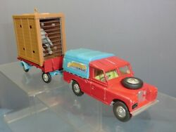 Corgi Toys Gift Set Model No.gs 19 Land Rover With Elephant And Gage Lot 3