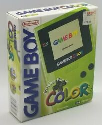 Nintendo Game Boy Color Launch Edition Kiwi Handheld System New Factory Sealed