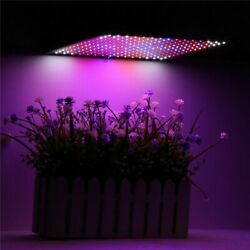 225led Grow Light Blue And Red And White And Orange Lamp Ultrathin Panel Hydroponics