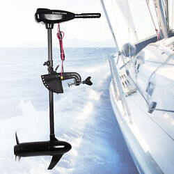 1.6hp Outboard Brush Engine Electric Trolling Motor 24v 85lbs For Fishing Boat