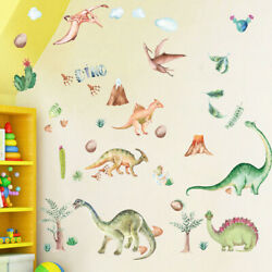 Removable Kids Wall Decal For Boys Room Bedroom Art Large Dinosaur Home Decor