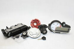 15-18 Bmw S1000rr Complete Ignition Lock Key Set W/ Gas Cap And Seat Lock Oem
