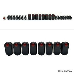 Carling Boat Rocker Switches  W/ Breakers Illuminated 23 Piece