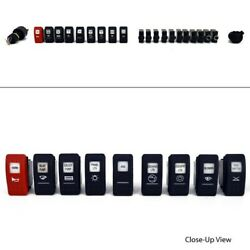 Carling 22 Piece Boat Rocker Switch / Breaker Set With Ignition Switch