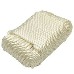Dockmate Boat Utility Line Dm53340   1/4 Inch X 100 Foot White Nylon