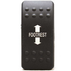 Baja Footrest Marine Boat Switch Textured Cover / Plate