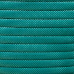 Boat 1 Inch Sewn Pleated Vinyl | Perforated Teal 54 Inch Yd