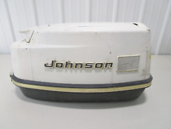 Vintage Johnson Sea Horse 40 Hp Outboard Top Engine Cowl Motor Cover Hood 1960's