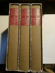 The Life Of Samuel Johnson Ll.d. In Three Volumes By James Boswell