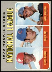 1970 Topps 654 Oscar Gamble / Boots Day / A Phillies / Cubs / Pirates 7.5 - Nm+