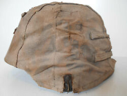 German Cover Camouflaged For German Helmet Wwii