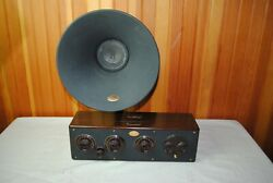 Atwater Kent Model 20 With Speaker