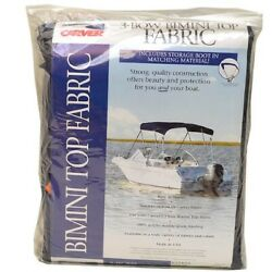 Carver Boat 3 Bow Bimini Top Cover 600a05   Captain Navy Fabric 6 Foot