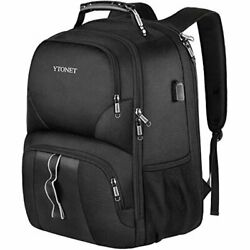 TRAVEL BACKPACKS FOR MEN EXTRA LARGE 50L TRAVEL BACKPACK WITH USB CHARGING PORT $55.99