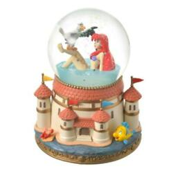 Disney Store Ariel And Scuttle Snow Globe The Little Mermaid Story Collection 2021