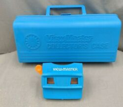 View-master Blue Collectorandrsquos Case With Blue View-master Viewer