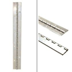Boat Piano Hinge   9 X 1 Inch 20 Gauge Stainless Steel