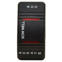 Carling Boat Rocker Switch Cover | Bow Well-aerate-acc Lightedsingle