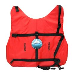 Omega 40902-xl Extra Large 60-80 Lbs Red Boat Pet / Dog Watercraft Float Vest