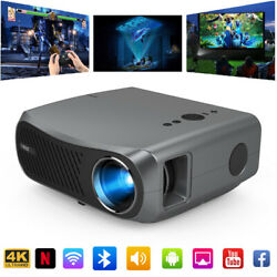 Eug 5g Wifi Projector Native 1080p 4k Video Proyector Led Android Beamer Movie