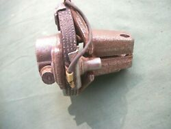 1960and039s Steering Gear Box Or Shaft Rag Joint 3/4 Shaft Spline. Read Ad