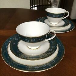 Royal Doulton Carlyle Tea Trio Cup And Saucer And Plate 2 Pcs Set Teacup